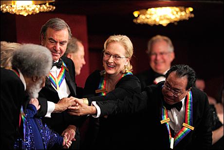 Sonny Rollins, Neil Diamond and Meryl Streep