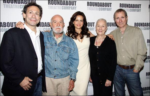 Gordon Edelstein, Athol Fugard, Carla Gugino, Rosemary Harris and Jim Dale