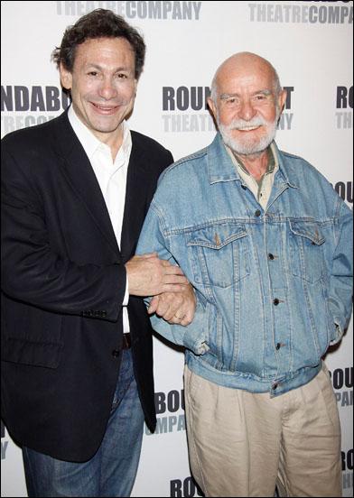 Gordon Edelstein and Athol Fugard