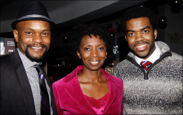 Forrest McClendon, Sharon Washington and Julius Thomas III