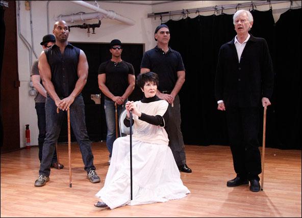 Chita Rivera and cast