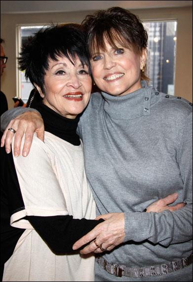 Chita Rivera and Ann Reinking
