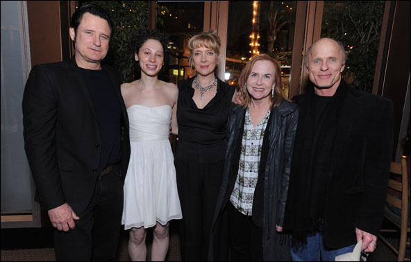 Bill Pullman, Bess Rous, Glenne Headly, Amy Madigan and Ed Harris