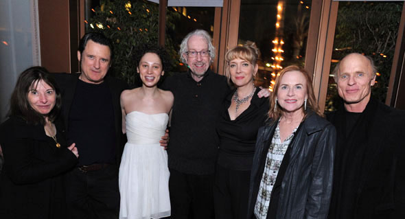 Beth Henley, Bill Pullman, Bess Rous, Robert Falls, Glenne Headly, Amy Madigan and Ed Harris