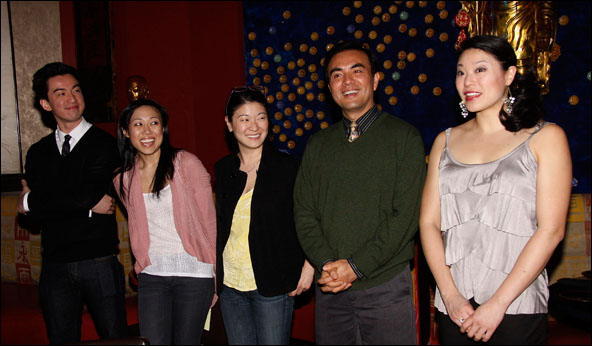 Johnny Wu, Angela Lin, Jennifer Lim, Larry Lei Zhang and Christine Lin