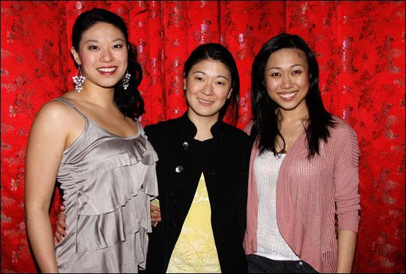 Christine Lin, Jennifer Lim and Angela Lin