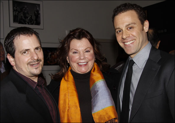 Jesse Berger, Marsha Mason and Matthew Rauch
