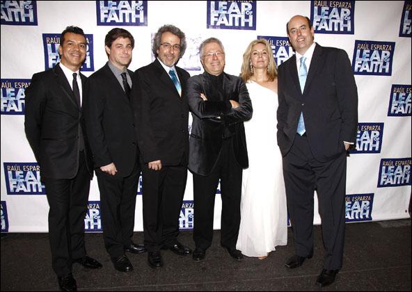 Sergio Trujillo, Glenn Slater, Warren Leight, Alan Menken, Janus Cercone and Christopher Ashley