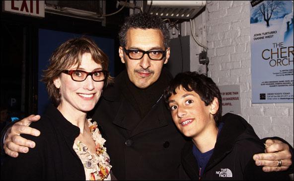 Katherine Borowitz, John Turturro and Diego Turturro