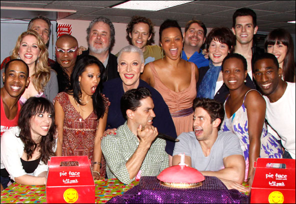 Will Swenson, Tony Sheldon, Nick Adams and cast