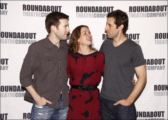 Jacob Fishel, Kristen Bush and Josh Cooke
