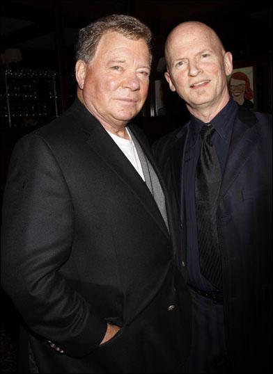 William Shatner and Scott Faris