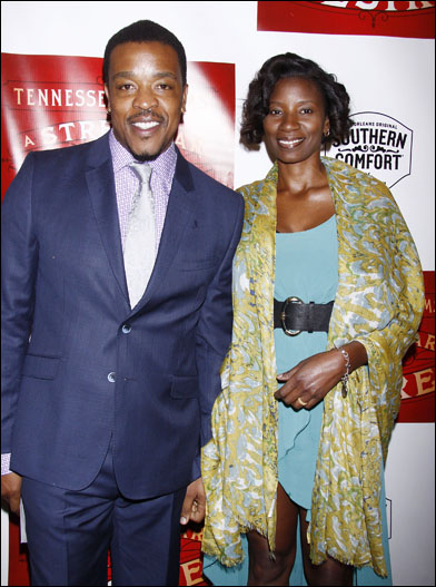 Russell Hornsby and Denise Hornsby