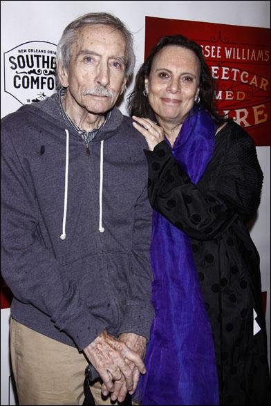 Edward Albee and Emily Mann