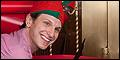 Sebastian Arcelus Opens the Elf Box Office at the Al Hirschfeld Theatre