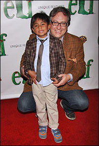 Douglas Carter Beane and son Cooper in 2010