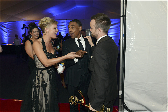 Martha Plimpton, Giancarlo Esposito and Aaron Paul