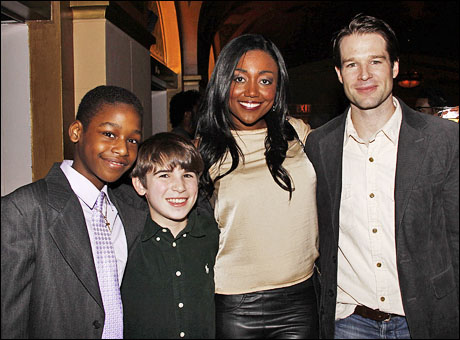 Jeremy Gumbs, Ted Sutherland, Patina Miller and Kieran Campion