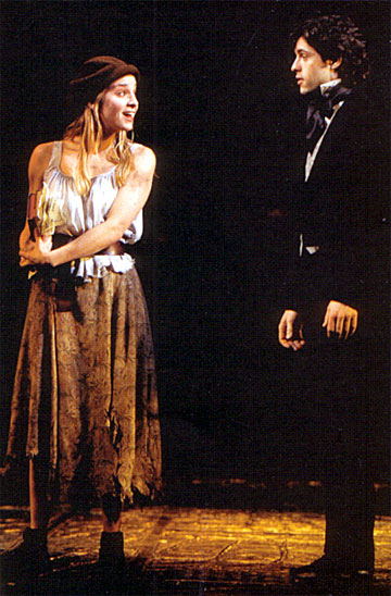 Jessica Boevers and Peter Lockyer on Broadway