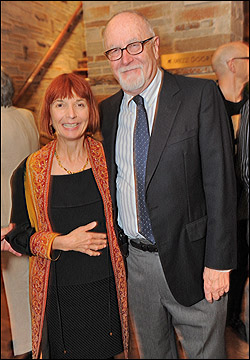 Jane Anderson and producing director Gil Cates