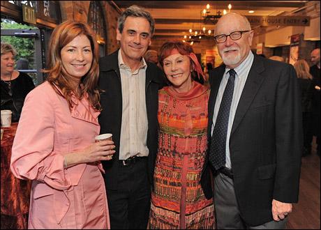 Dana Delaney, artistic director Randall Arney, board member Glorya Kaufman and producing director Gil Cates