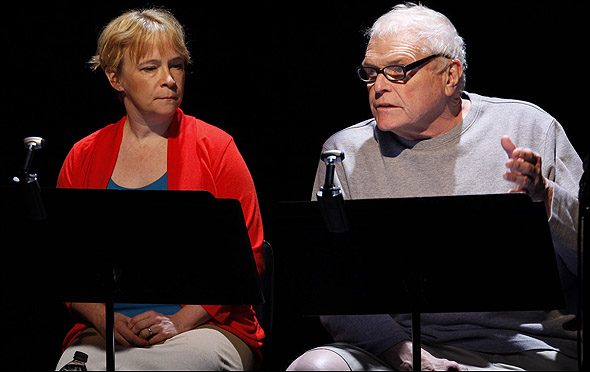 Amelia Campbell and Brian Dennehy