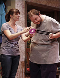 Julia Murney and Daniel Everidge