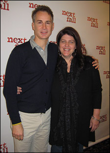 Playwright Geoffrey Nauffts and director Sheryl Kaller