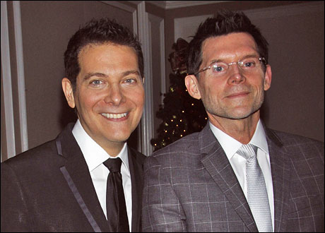 Michael Feinstein and Terrence Flannery