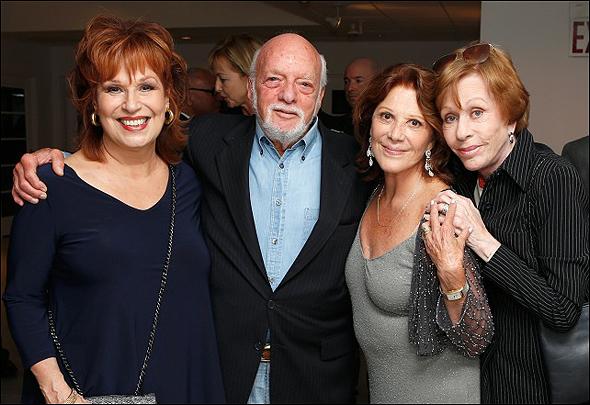 Joy Behar, Hal Prince, Linda Lavin and Carol Burnett