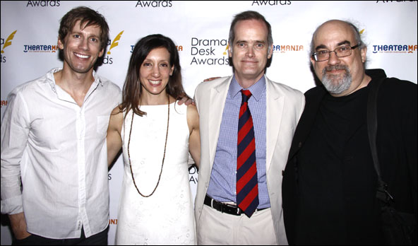 Andrew Samonsky, Lori Fineman. Jack Cummings III and Michael Starobin