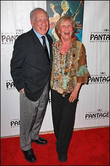 Mel Brooks and Cloris Leachman