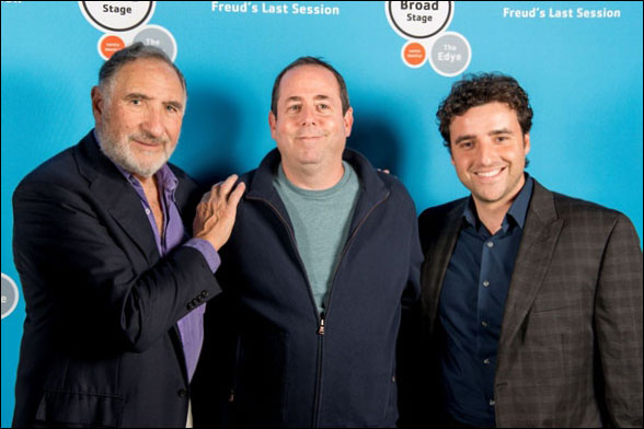 Judd Hirsch, Barry Schindel and David Krumholtz