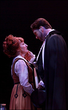 Vicki Lewis and Brad Little