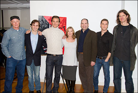 David Hay, Andy Sandberg, Michael T. Weiss, Donna Bullock, Daniel Oreskes, Scott Drummond and Wilsom Milam