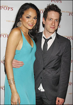 Karen Olivo and Matt Caplan