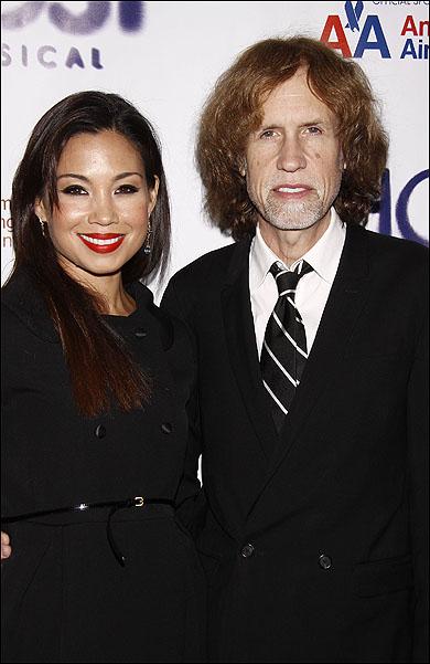 Natalie Mendoza and Glen Ballard