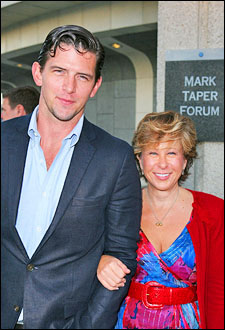 Hunter Cross and Yeardley Smith