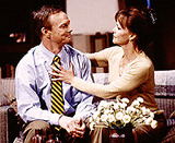 Sally Field and Bill Irwin in <I>The Goat.</I>