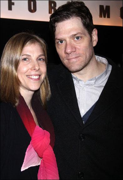 Carolyn Cantor and Adam Rapp