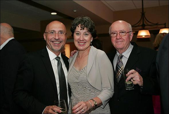 Rob Ruggiero, Donna Lynn Hilton and Ronn Carroll