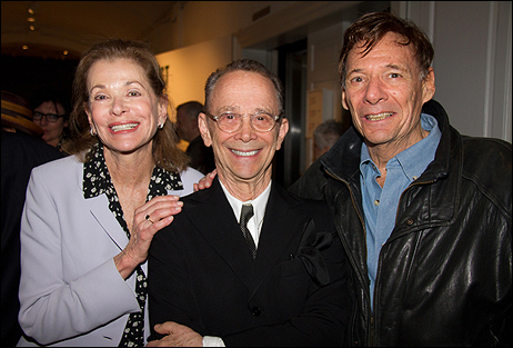 Jessica Walter, Joel Grey and Ron Leibman