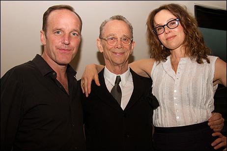 Clark Gregg, Joel Grey and Jennifer Grey