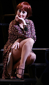Vicki Lewis in <i>Gypsy</i>.