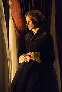 Jessica Chastain as <i>The Heiress.</i>