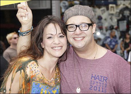 Caren Lyn Tackett and Josh Lamon