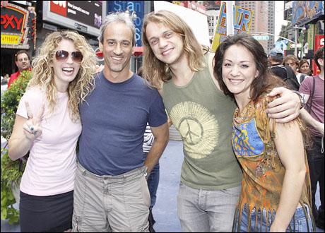 Kacie Sheik, Lon Hoyt, Matt DeAngelis and Caren Lyn Tackett