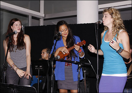 Allison Case, Kaitlin Kiyan and Kacie Sheik