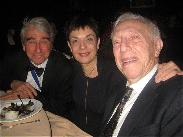 Sam Waterston, Cora Cahan and Bernard Gersten