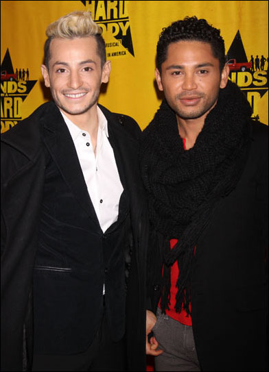 Frankie James Grande and Isaac Calpito